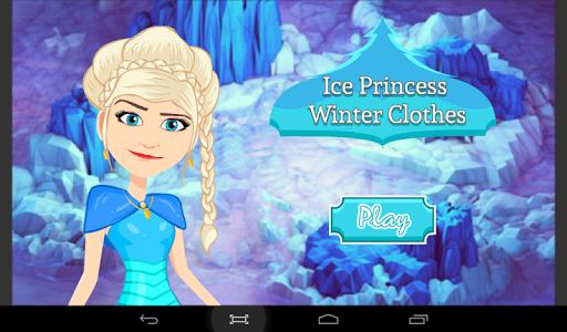 Princess Winter Dress Up