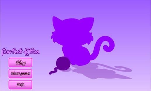Purrfect Kitten - Dress Up