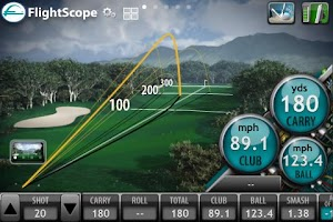 Screenshot of FlightScope