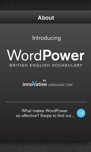 WordPower - British English