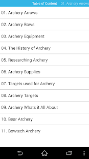 Guide for Archery & precision- screenshot thumbnail