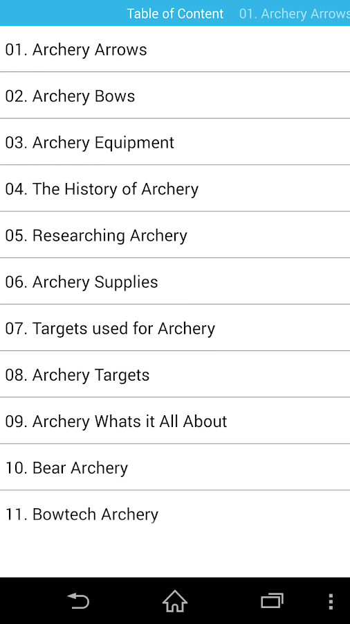 Guide for Archery & precision- screenshot