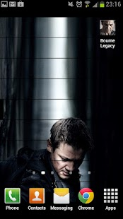 Bourne Legacy Live Wallpaper - screenshot thumbnail