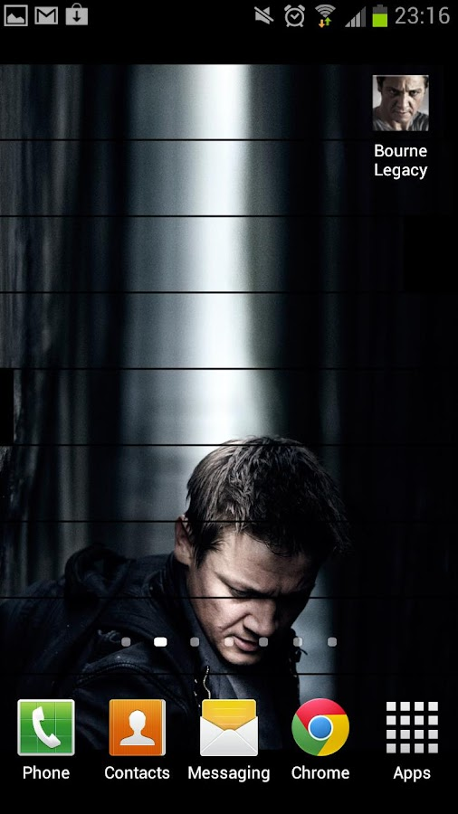 Bourne Legacy Live Wallpaper - screenshot