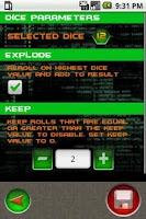 Screenshot of Cyberpunk Dice Pack