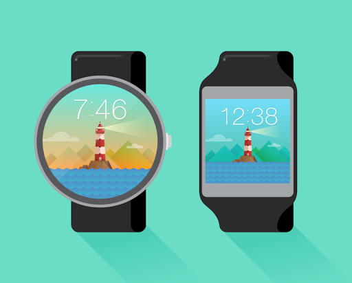 Lighthouse watchface by Neroya