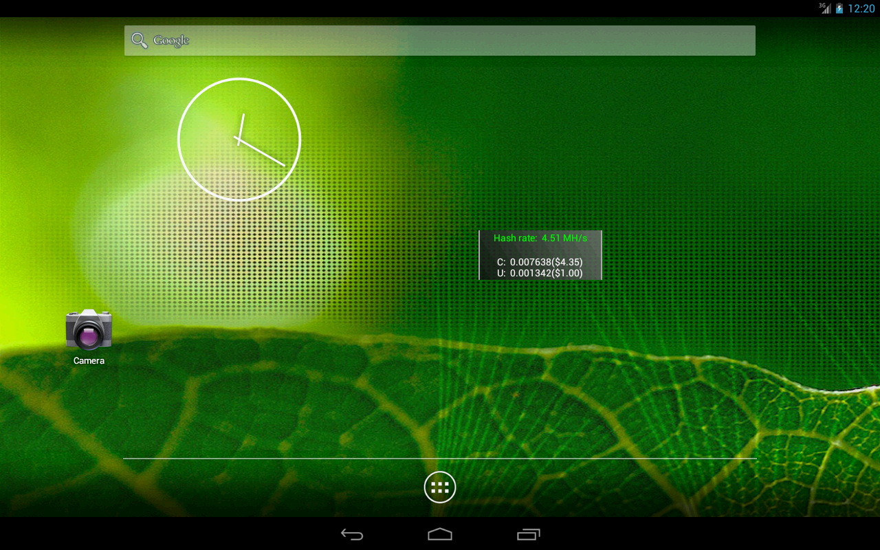 Waffle Widget - screenshot