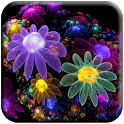 3D Fantasy Flowers LWP icon