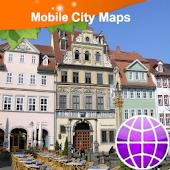 Erfurt Street Map