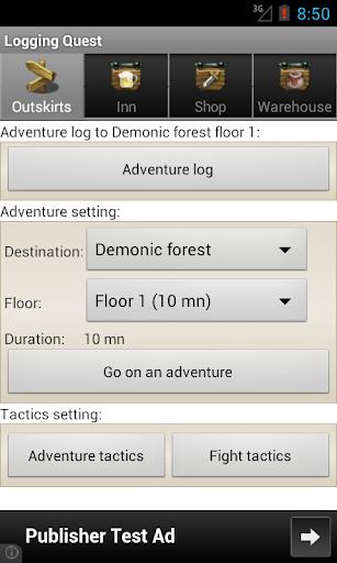 Logging Quest