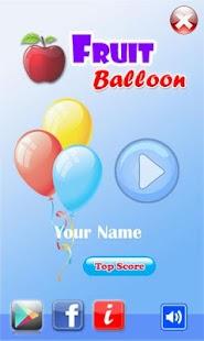Pop Fruit Balloon
