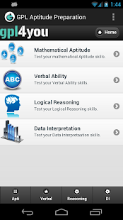 Aptitude Test Preparation- screenshot thumbnail