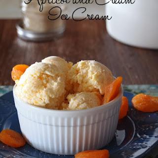 Apricot and Cream Ice Cream