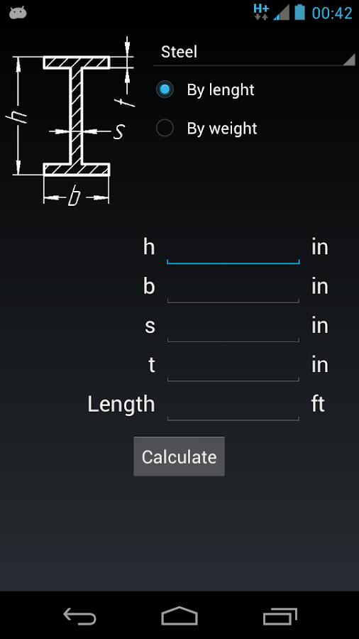 metal weight calculation formula pdf