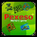 Pexeso plus: Kids memory game icon