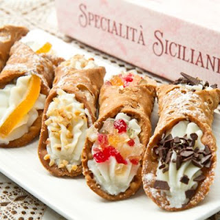 Authentic Italian Cannoli.