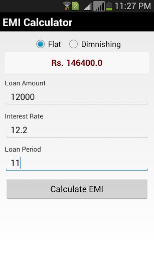 【免費生產應用App】Smart EMI Calculator-APP點子