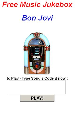 Bon Jovi JukeBox - screenshot