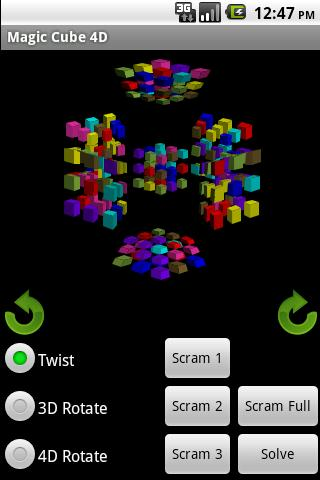 Magic Cube 4D- screenshot