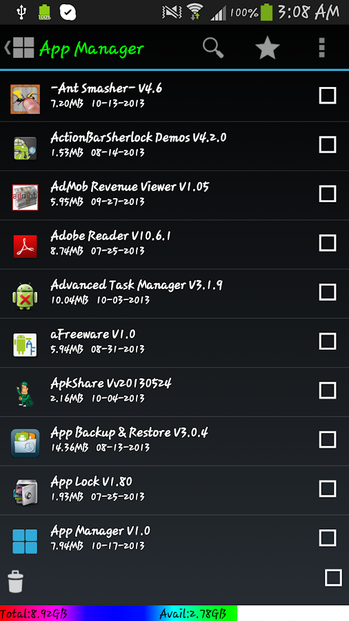 App2SD card(Move App 2 sd) - screenshot