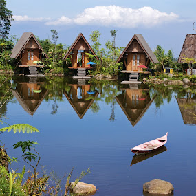Bambu Village by Mulawardi Sutanto - Buildings & Architecture Other Exteriors ( village, dusun bambu, travel )