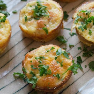 Easy Green Chili-bacon Omelet Muffins
