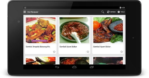 Resep Sambal screenshot