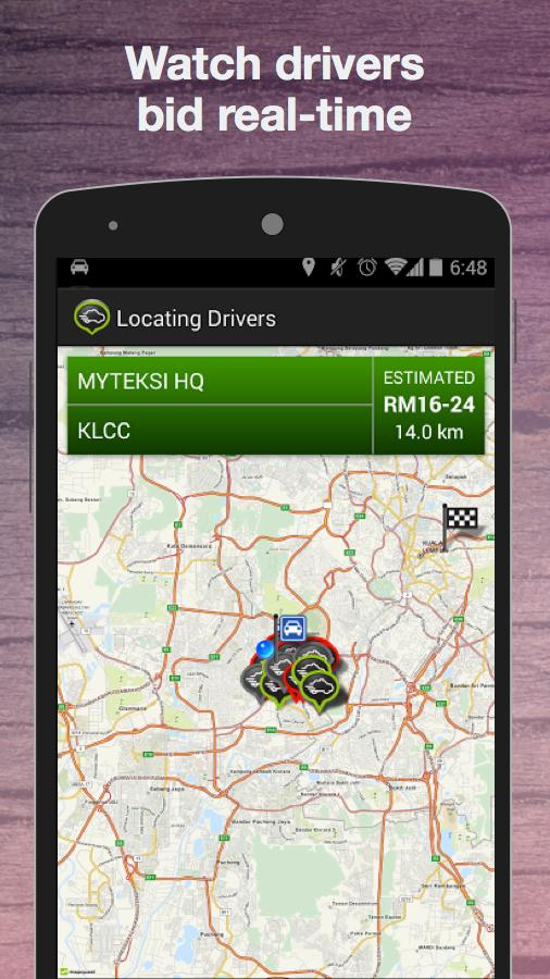 GrabTaxi: Taxi Booking App - screenshot