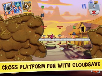 Worms 3 v1.82 Apk + OBB Data 2