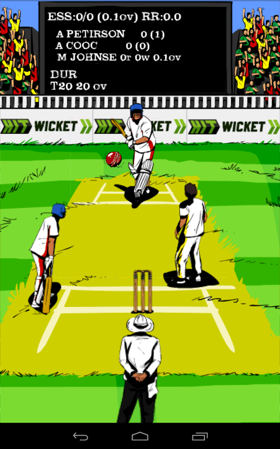 Hit Wicket Cricket English Cup - screenshot