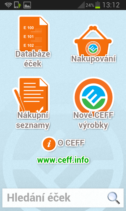 CEFF- screenshot