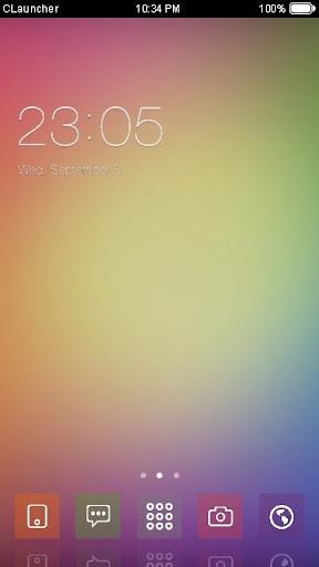 '色彩散景'手機主題——暢遊桌面