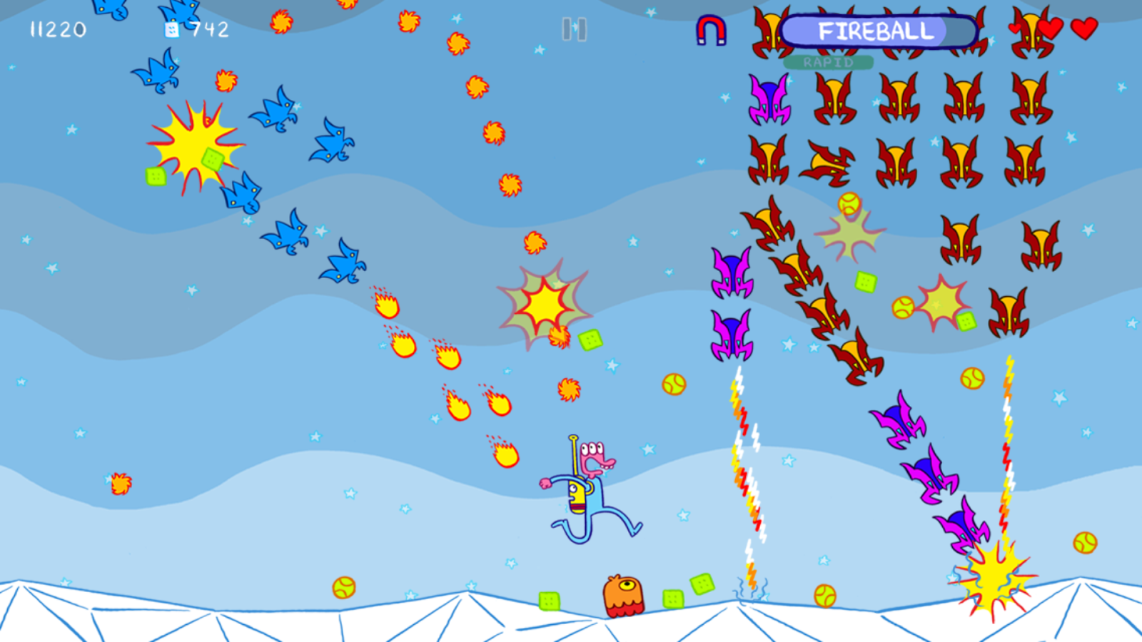 Glorkian Warrior- screenshot