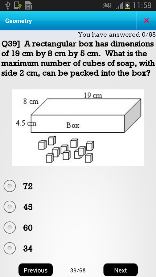 CA 6th Geometry - screenshot
