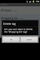 Screenshot of Beanlist - A free To Do list