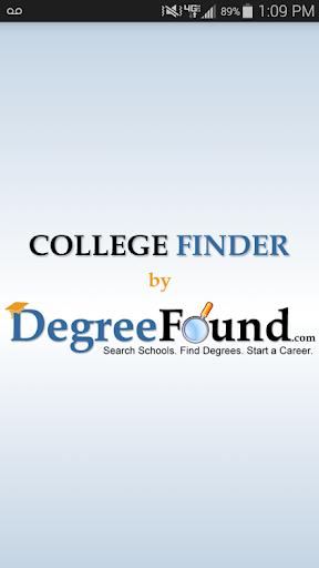 College Finder by DegreeFound