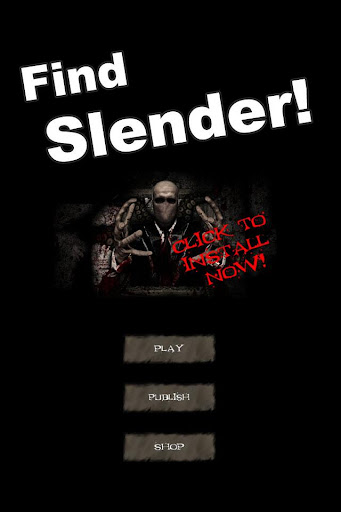 Find Slender Man Horror Puzzle