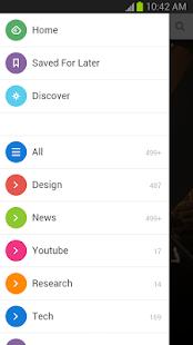 Feedly - screenshot thumbnail