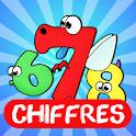 Naoplay Kids: Chiffres logo