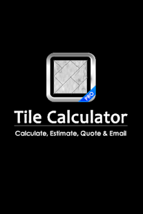 Tile Calculator PRO- screenshot thumbnail