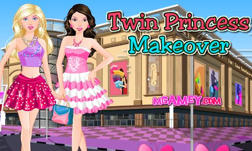 Twin Princess Makeover 休閒 App-愛順發玩APP