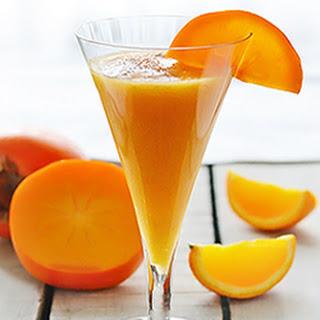 Persimmon Orange Smoothie.