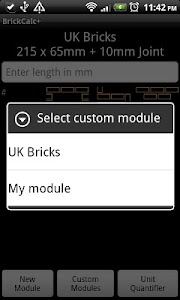 Brick Calculator + screenshot 1
