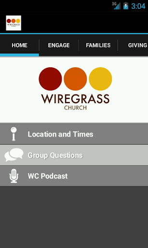 Wiregrass Church App