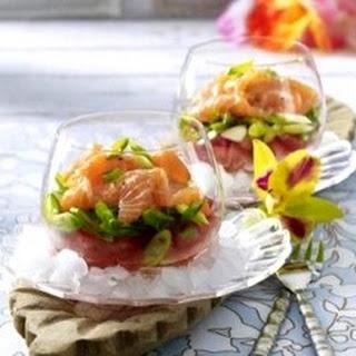 Layered Lomi Salmon