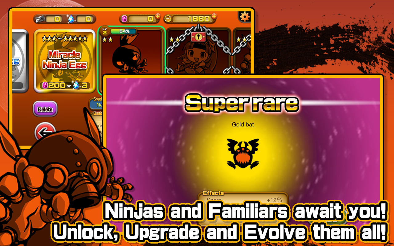 Mr.Ninja!! Fever - screenshot