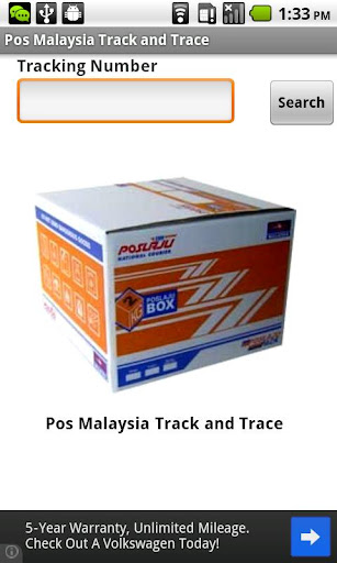 Pos Malaysia Track and Trace
