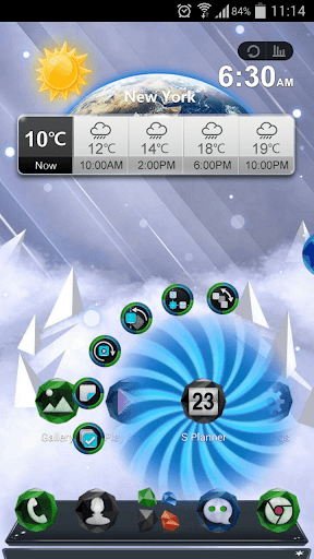 Next Ice World 3D Theme