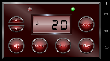 Screenshot of Digital metronome
