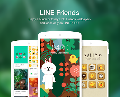 Wallpapers, Icons - LINE DECO- screenshot thumbnail